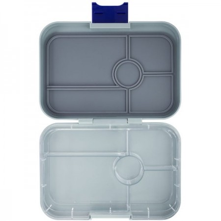 YumBox Tapas Lunch Box 5 Compartment - Flat Iron Grey