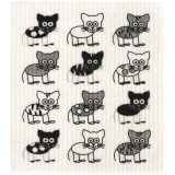 Swedish Dish Sponge Cloth - Cats