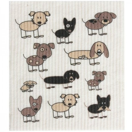 Swedish Dish Sponge Cloth - Dogs
