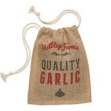 Hessian Produce Bag - Garlic Sack
