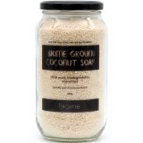 Ground Coconut Soap in Glass Jar 600g