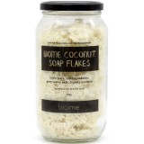 Coconut Soap Flakes in Glass Jar 300g