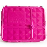 Go Green Lunch Box Medium 4 Compartment - Pink