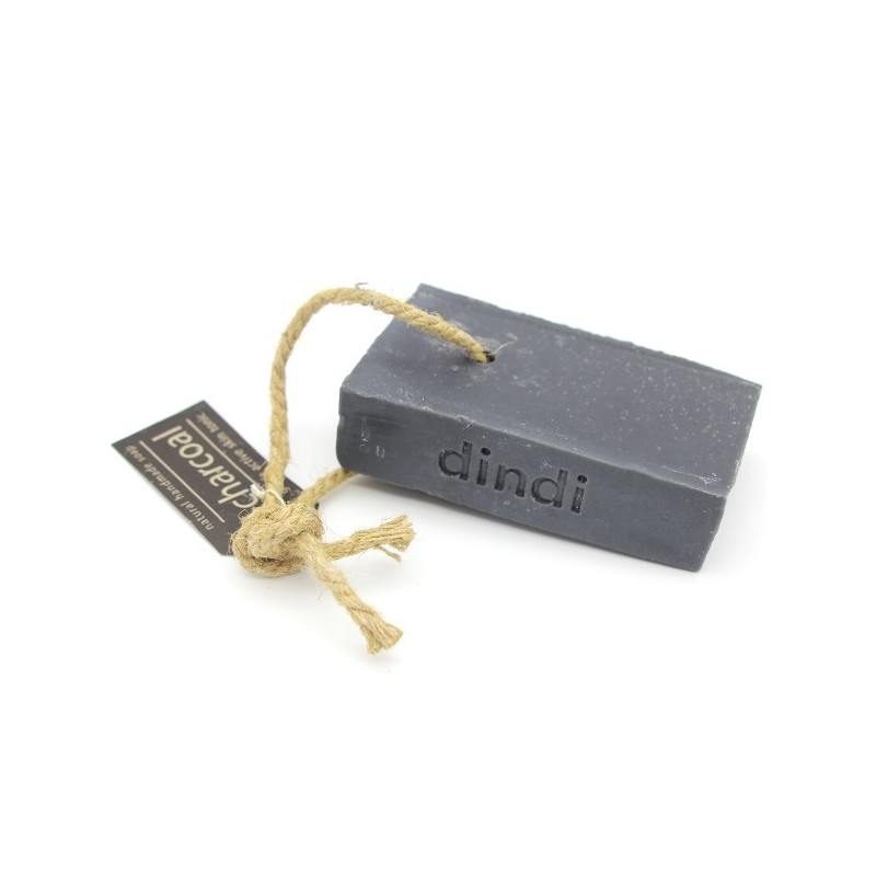 Dindi Charcoal Soap on a Rope