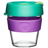 KeepCup Small Clear Plastic Coffee Cup 8oz (227ml) - Sage