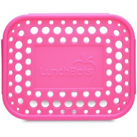 LunchBots Spare Medium Cover - Dots Pink