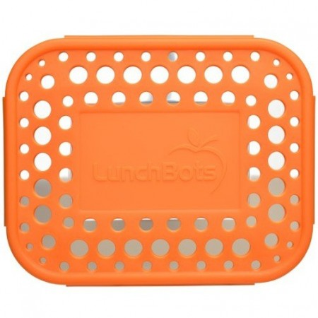 LunchBots Spare Medium Cover - Dots Orange