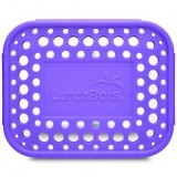 LunchBots Spare Medium Cover - Dots Purple