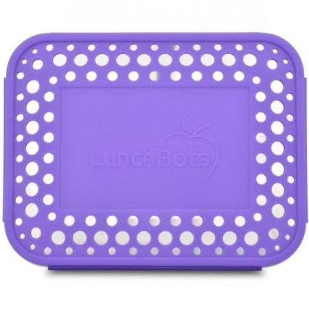 LunchBots Spare Large Cover - Dots Purple