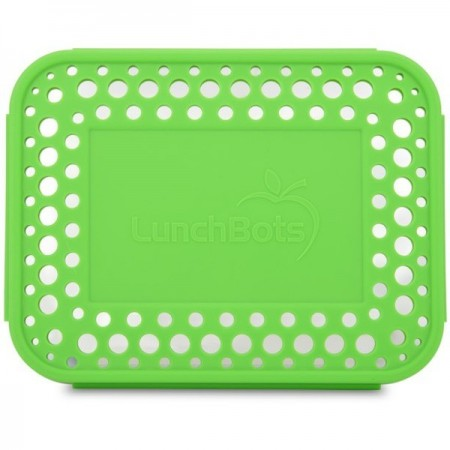 Lunchbots Spare Large Cover - Dots Green