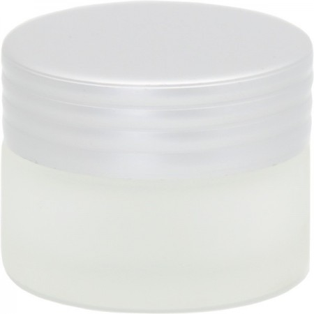 Frosted Glass Reusable Jar with Lid 15ml