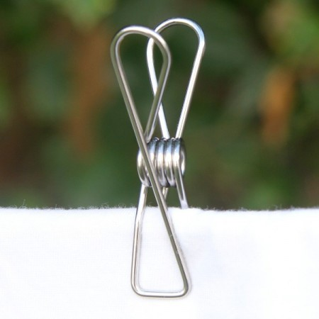 Stainless Steel Wire Pegs Pack Medium Grade 304 (select pack size)