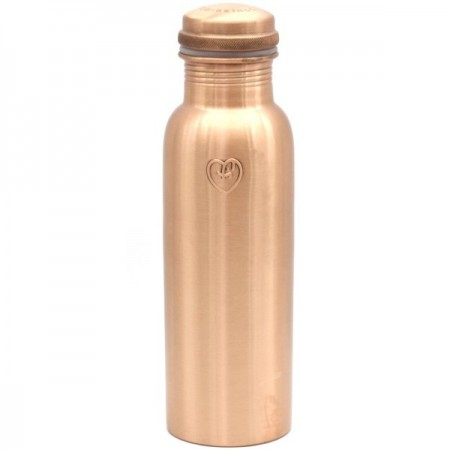 Yogibeings Copper Water Bottle 845ml - Smooth Matte