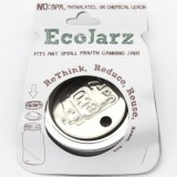 EcoJarz Stainless Steel Drinking Lid - Regular Mouth