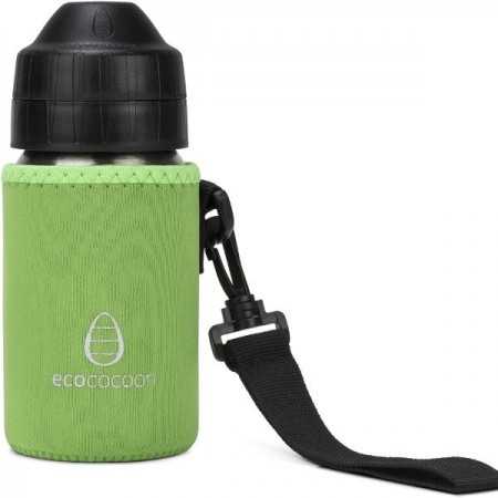 Ecococoon Small Water Bottle Cuddler - spring green