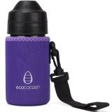 Ecococoon Small Water Bottle Cuddler - purple amethyst