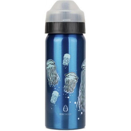 EcoCocoon 500ml Stainless Steel Water Bottle - Jellyfish