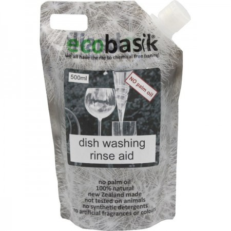 Ecobasik Dish Washing Rinse Aid 500ml