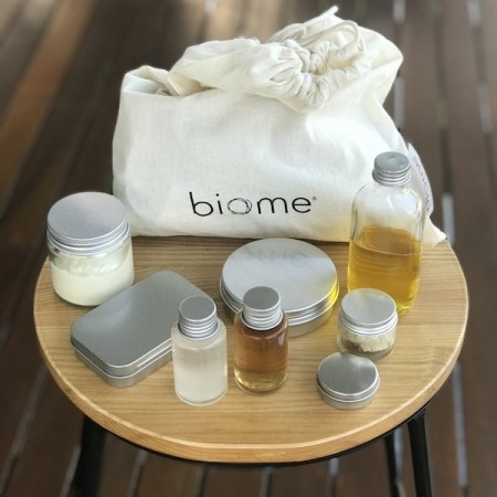 Biome Plastic Free Zero Waste Travel Container Kit