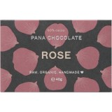 Pana Organic Raw Vegan Chocolate 45g - Rose