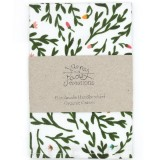 Organic Cotton Handkerchief - Sweet Briar