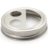 Mason Jar Toothbrush Holder Lid - Regular Mouth