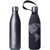 BBBYO Stainless Steel Water Bottle with Cover 750ml - Globe