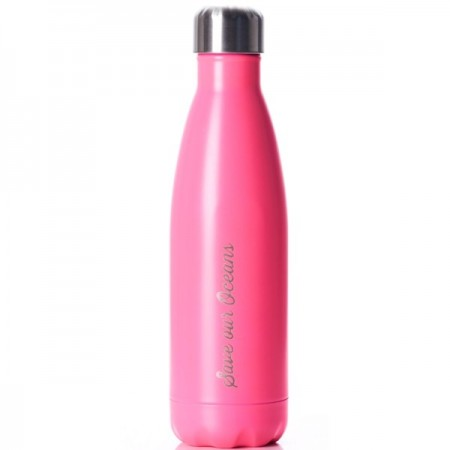 BBBYO Stainless Steel Future Bottle 500ml - Hot Pink