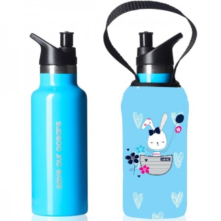 BBBYO Kids Sippy Bottle 500ml - Bunny