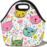 BBBYO Lunchtime Carry Bag - Cats