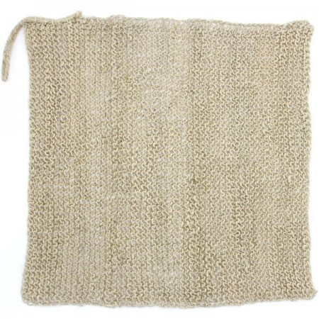 Hemp Wash Cloth Fair Trade Large 30cm x 30cm