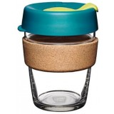 KeepCup Medium Glass Cup Cork Band 12oz (354ml) � Turbine