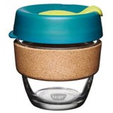 KeepCup Small Glass Cup Cork Band 8oz (227ml) � Turbine
