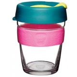 KeepCup Medium Glass Cup 12oz (340ml) - Atom
