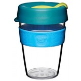 KeepCup Medium Clear Plastic Coffee Cup 12oz (355ml) - Ozone