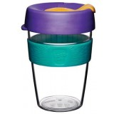 KeepCup Medium Clear Plastic Coffee Cup 12oz (355ml) - Reef