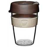 KeepCup Medium Clear Plastic Coffee Cup 12oz (355ml) - Aroma