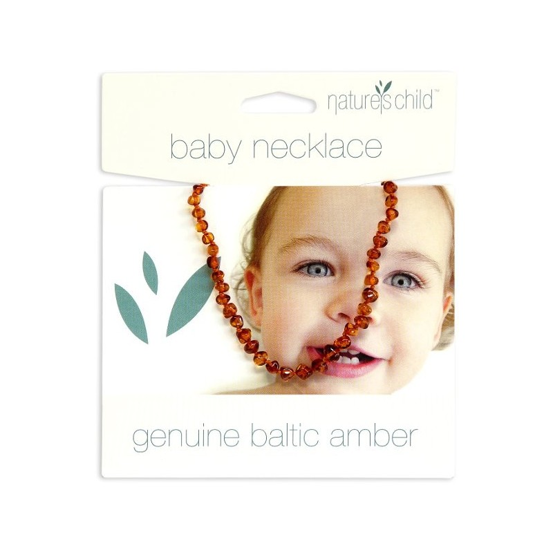 Nature's Child Amber Baby Necklace