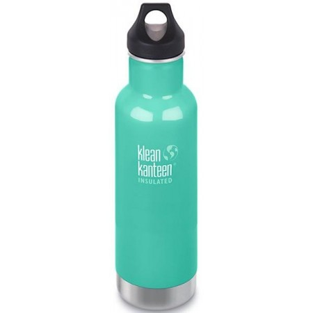 Klean Kanteen Classic Insulated Water Bottle 20oz 592ml - Sea Crest (Klean Coat)