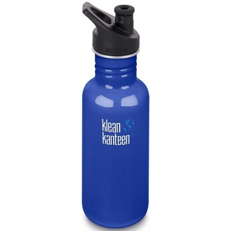 Klean Kanteen Classic Stainless Steel Water Bottle 18oz 532ml - Coastal Waters (Klean Coat)
