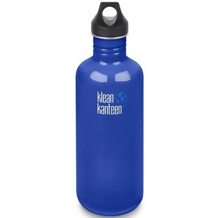 Klean Kanteen Stainless Steel Water Bottle 40oz 1182ml - Coastal Waters (Klean Coat)
