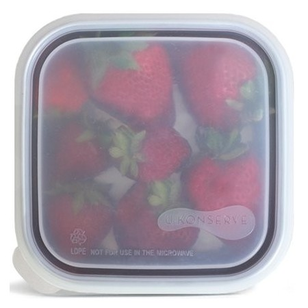 U Konserve To Go Replacement Lid - Square Small Clear