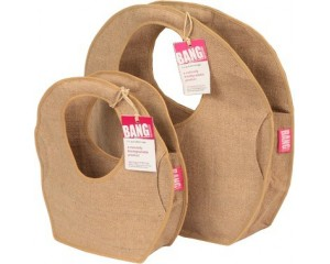 Winnie Circle Jute Bag - Medium