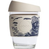 JOCO Glass Reusable Cup 350ml 12oz - Artist Series Lars Huse