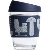 JOCO Glass Reusable Cup 350ml 12oz - Artist Series Adrian Knott