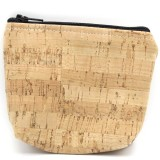 Cork Fabric Pouch - Mini