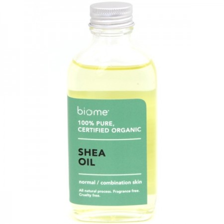 Biome 100% Shea Oil Certified Organic 100ml