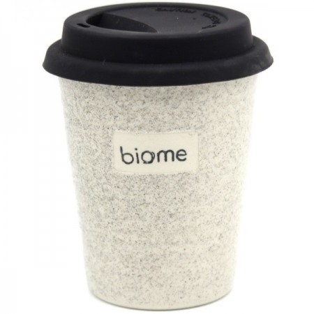 Biome Ceramic Coffee Cup 12oz 355ml - Poppyseed