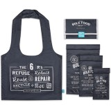 Onya Reusable Bulk Food Bag Starter Kit - Charcoal