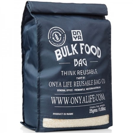 Onya Reusable Bulk Food Bag Large - Charcoal